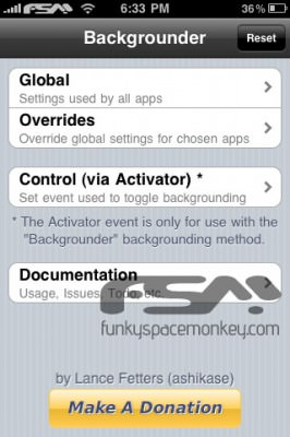 backgrounder 21 266x400 New Backgrounder Update : Multitasking App  For iPhone/iPod Touch/iPad