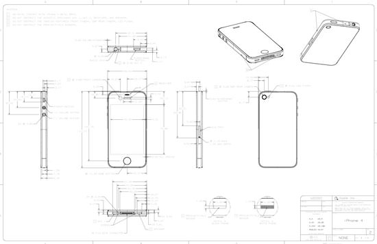 Iphone 4 Cad Drawings Provided To Case