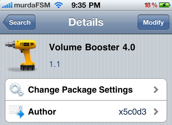 Volume Booster 4 0: Boost Up The Volume On Your iOS 4 Device