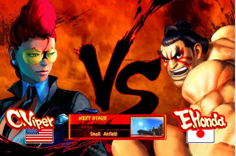 Screen shot 2010 09 17 at 12.19.09 AM Street Fighter IV For iPhone Updated: Added E.Honda and C. Viper And New Costums