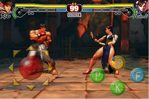 Screen shot 2010 09 17 at 12.19.53 AM Street Fighter IV For iPhone Updated: Added E.Honda and C. Viper And New Costums