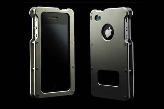 abee iphone 4 aluminium jacket 01 iPhone 4 Aluminium Jacket Case From Abee
