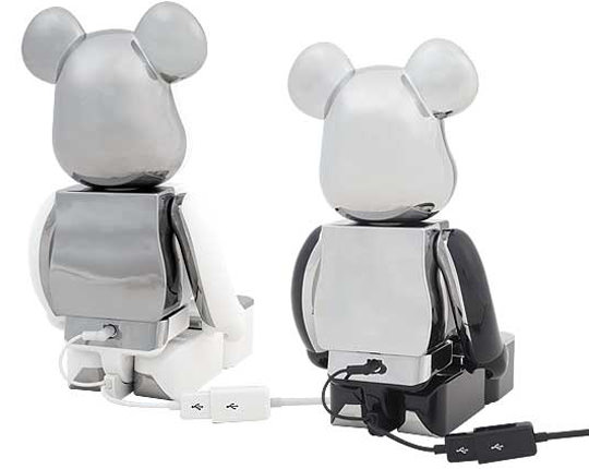 medicom bearbrick ipod iphone speaker system 2 Bearbrick iPhone/iPod Speaker System From Medicom