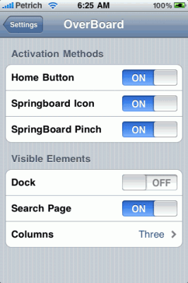 overboard 1 266x400 OverBoard Update To v1.2 . Adds Support For iOS4 And Retina Display