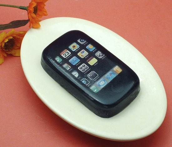 102610 rg IphoneSoap 01 WTF Of The Day: Grilled Sausage Scented iPhone Soap
