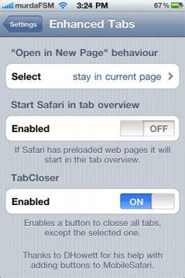 EnhancedTabs 1 266x400 EnhancedTabs: Make Safaris Tabs Better