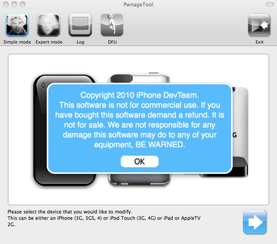 PwnageTool 1 HOW TO: Jailbreak iPhone 3G/3Gs/4, iPod Touch 3G/4G, iPad And AppleTV 2G With PwnageTool 4.1