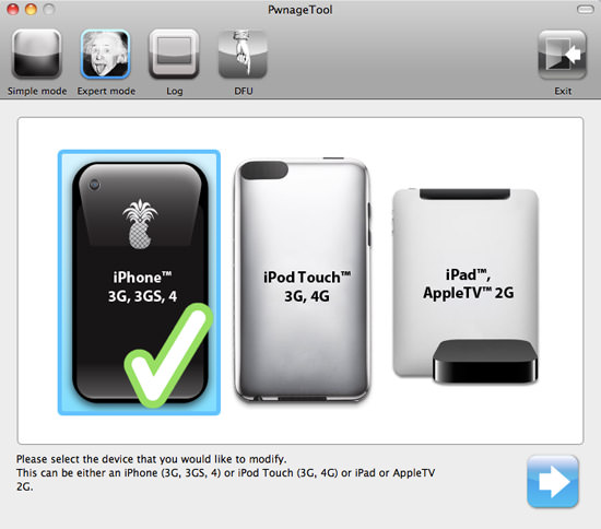 PwnageTool 2 HOW TO: Jailbreak iPhone 3G/3Gs/4, iPod Touch 3G/4G, iPad And AppleTV 2G With PwnageTool 4.1