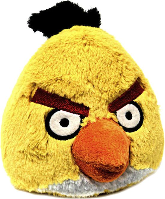 angry birds plush toys 3 Angry Birds Plush Toys Available For Pre Order Now