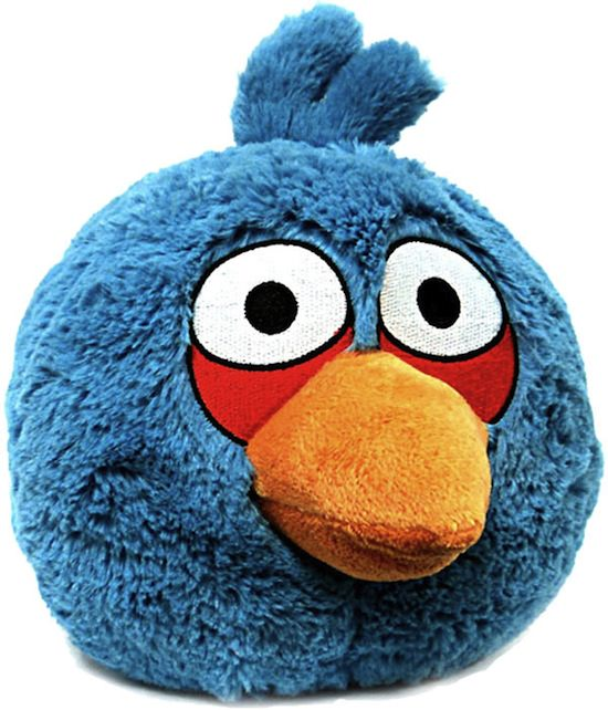 Angry Birds Stuffed Toys : Real world angry birds plush toys
