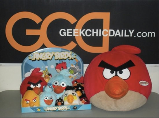 angry birds plush toys 6 Real World Angry Birds Plush Toys