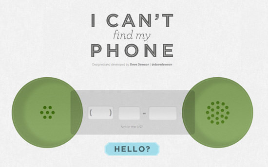 icantfindmyphone I Cant Find My Phone: A Site To Help You... Find Your Phone!