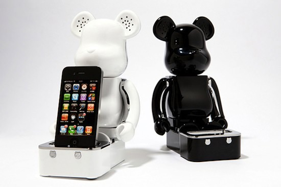 medicom toy bearbrick speaker system MEDICOM TOY BEARBRICK iPhone/iPod Touch Speaker System