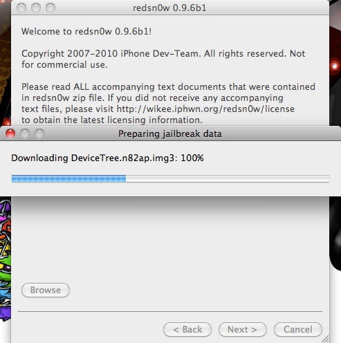 redsn0w 3 HOW TO: Jailbreak iPhone 3G And iPod Touch 2G Running iOS 4.1 [Mac and Windows