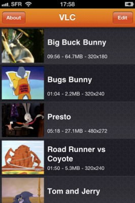 vlc iPhone 2 266x400 VLC Media Player For iPhone Available In The App Store