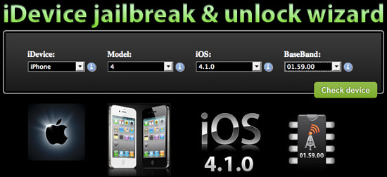 wizard iDevice Jailbreak And Unlock Wizard