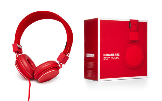 Urbanears Plattan Plus Headphones Made Exclusively For Apple Stores
