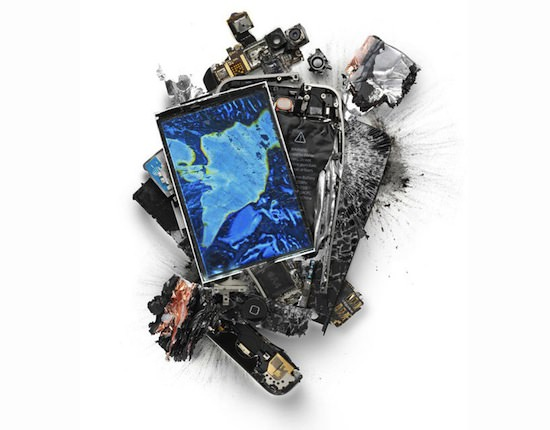 ap04 A Series Of Smashed, Mangled, Shot Up & Melted Apple Products [Pics]