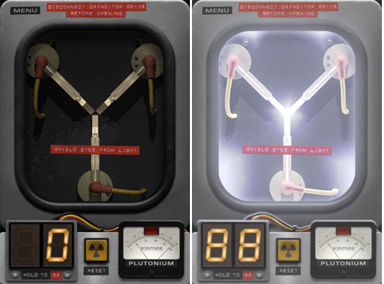 Official Back To The Future Flux Capacitor App For The