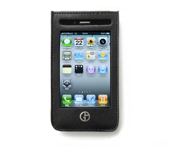 giorgio armani softbank apple iphone ipad case 2 Giorgio Armani x Softbank iPhone & iPad Cases