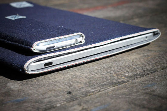 msco ipad case 2 MS&Co. Selvedge Denim iPhone And iPad Sleeves