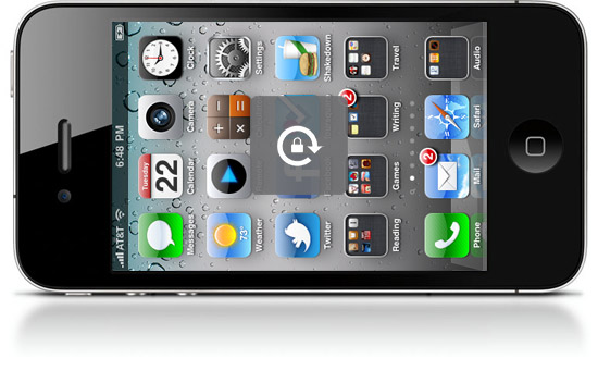 iphone rotation lock how to enable hardware rotation lock on iphone 4 running 3138