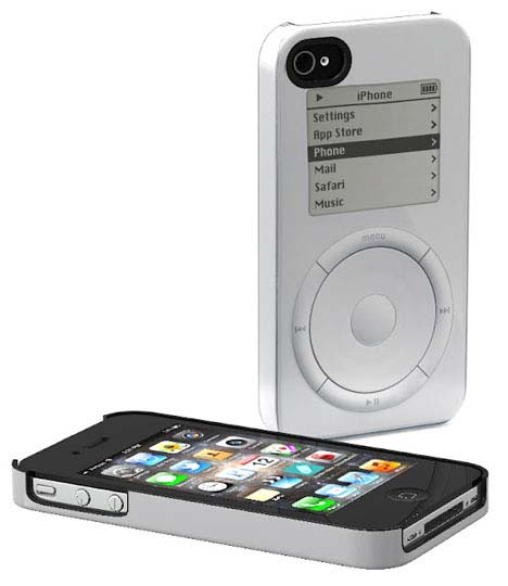original macintosh imac and ipod cases for the iphone 4 4s. Black Bedroom Furniture Sets. Home Design Ideas
