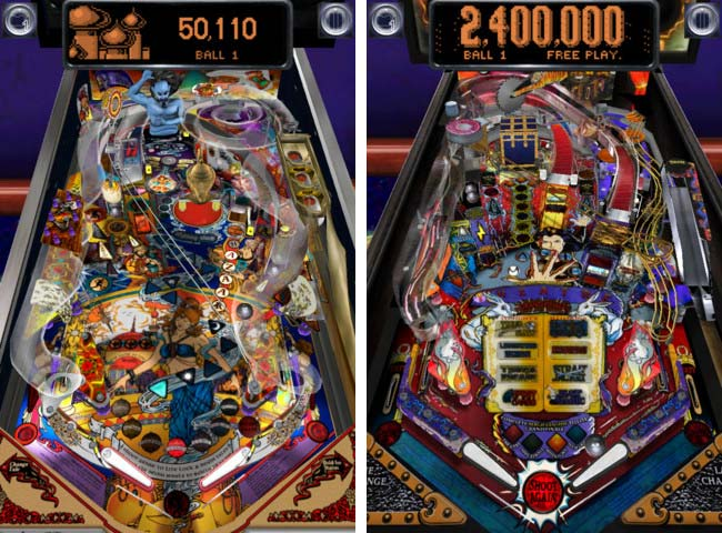 Pinball Arcade for iPhone and iPad