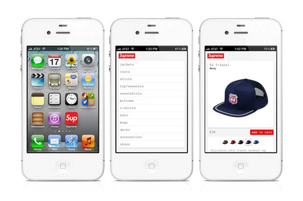 Supreme Optimizes Online Store For iPhone 7aed3eea76