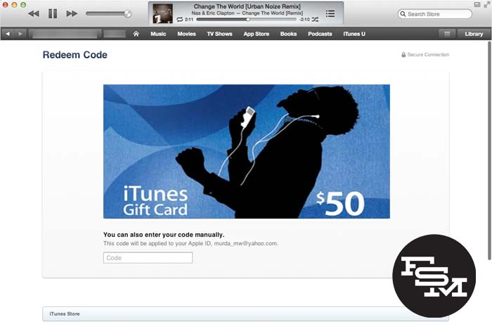 HOW TO: Redeem Gift Cards Using Your Camera In iTunes 11