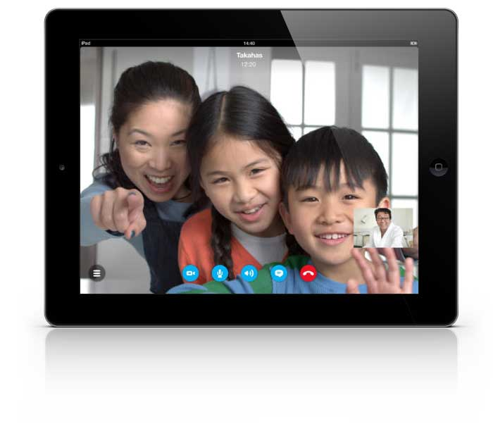 Skype For iPad Updated With HD Video Calls Support