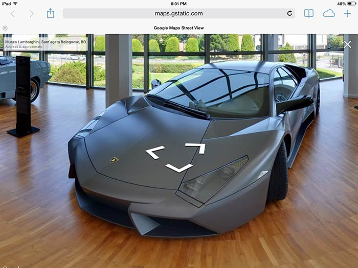 Use Your Iphone Or Ipad To Get Inside The Lamborghini Museum And