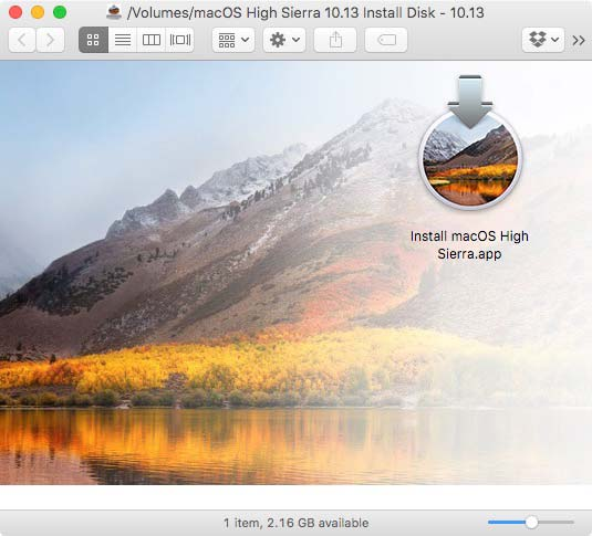 how to make windows bootable usb on high sierra