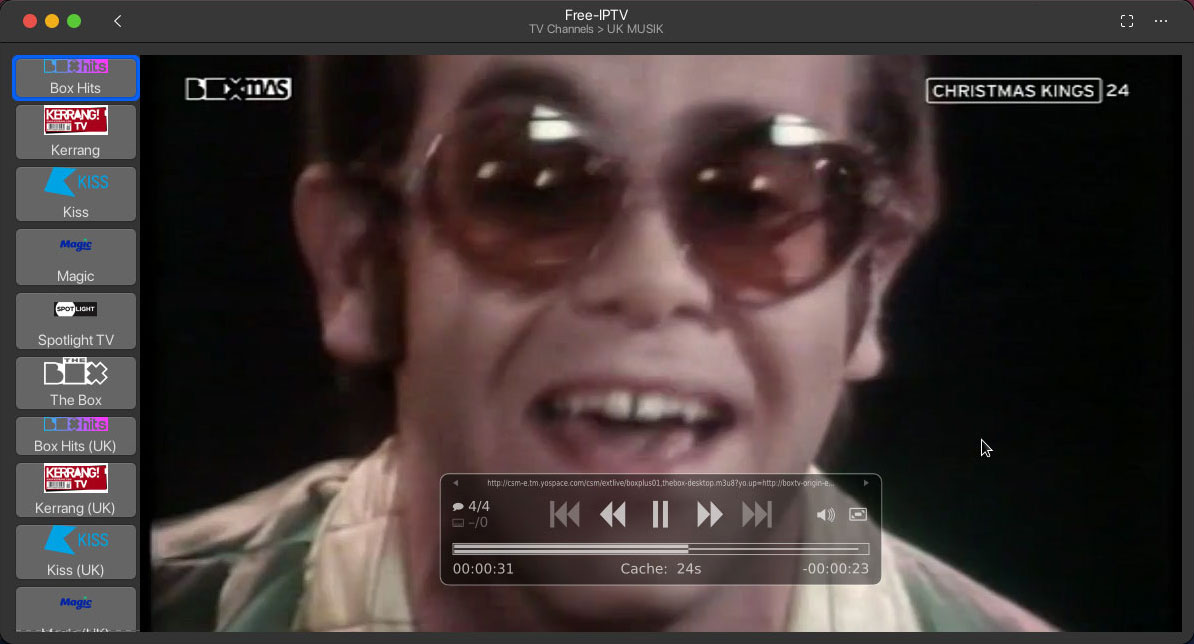 Hypnotix A Linux Iptv Streaming App With Support For Live Tv Movies And Series